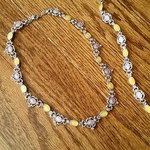 Jewelry - Vintage Choker with Matching Bracelet